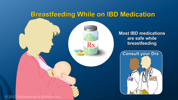 Breastfeeding on IBD Medication