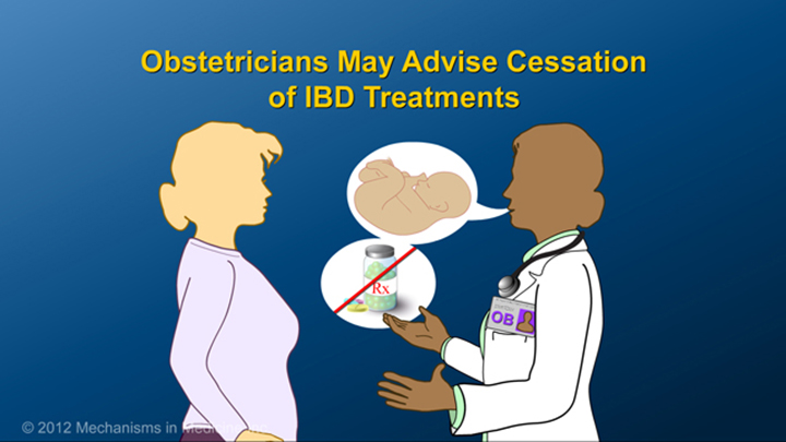 Obstetrician and IBD